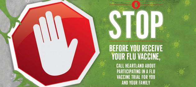 Flu Vaccine Trial – West