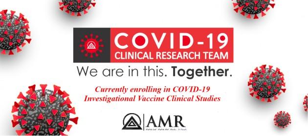 Healthy Volunteers – COVID-19 Clinical Trials